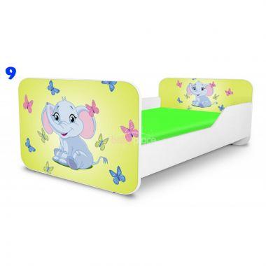 Pinokio Deluxe Square Sloník 9 dětská postel