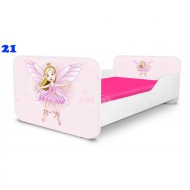 Dětská postel Pinokio Deluxe Square Víla 21
