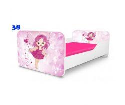 Pinokio Deluxe Square Víla 38 dětská postel