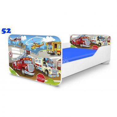 Pinokio Deluxe Square Zachranáři 52 dětská postel