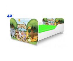Pinokio Deluxe Square ZOO 42 dětská postel