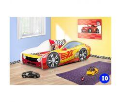 Pinokio Deluxe Závodní auto 10 dětská postel NEW