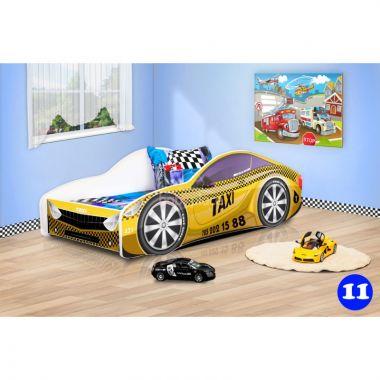 Pinokio Deluxe Závodní auto 11 dětská postel NEW