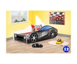 Pinokio Deluxe Závodní auto 12 dětská postel NEW