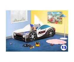 Pinokio Deluxe Závodní auto 13 dětská postel NEW