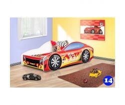 Pinokio Deluxe Závodní auto 14 dětská postel NEW