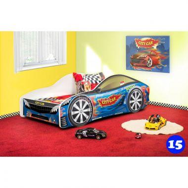 Pinokio Deluxe Závodní auto 15 dětská postel NEW