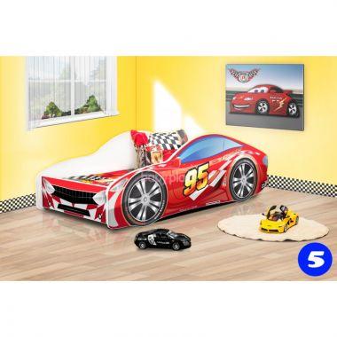 Dětská postel NEW Pinokio Deluxe Závodní auto 5