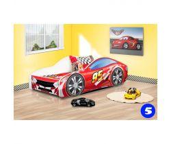 Pinokio Deluxe Závodní auto 5 dětská postel NEW