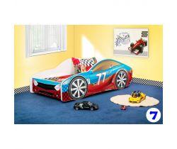 Pinokio Deluxe Závodní auto 7 dětská postel NEW
