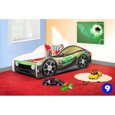 Dětská postel NEW Pinokio Deluxe Závodní auto 9