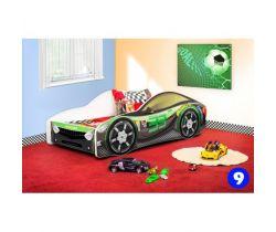 Pinokio Deluxe Závodní auto 9 dětská postel NEW