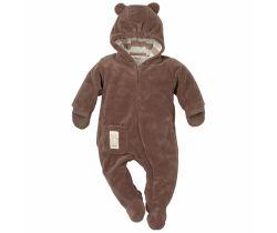 Pinokio Little Bear kombinéza hnědá