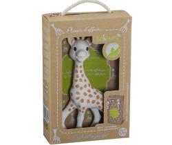 Pískací gumová žirafka Vulli So´Pure