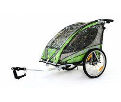 Pláštěnka na vozík za kolo Qeridoo