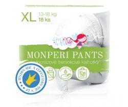 Plenkové kalhotky Monperi Pants XL (13-18 kg) 18 ks