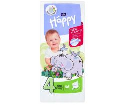 Plenky Bella Baby Happy Maxi 4 (8-18 kg) 46 ks