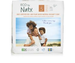 Pleny Naty Nature Babycare Junior 5 (11-25 kg) 22 ks