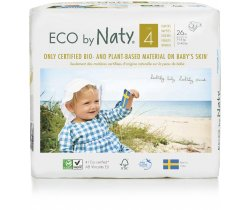 Pleny Naty Nature Babycare Maxi 4 (7-18 kg) 26 ks