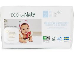 Pleny Naty Nature Babycare Mini 2 (3-6 kg) 34 ks