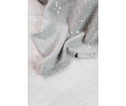 Pletená deka Bizzi Growin Silver