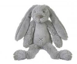 Plyšová hračka Happy Horse Králíček Richie 28 cm světle šedý