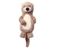Plyšová hračka s chrastítkem BabyOno Otter Maggie