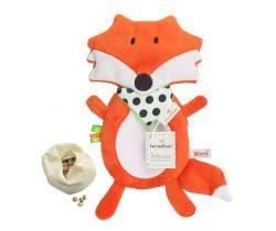 Plyšová hračka s termoforem Mom´s Care Liška