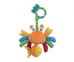 Plyšová hračka s vibrací BabyMix Crab