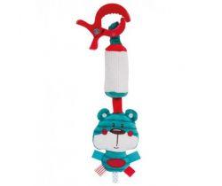 Plyšová hračka se zvonečkem a klipem Canpol Forest Friends