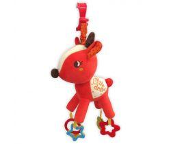 Plyšová hudební hračka BabyMix Little Deer