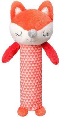 Plyšová pískací hračka BabyOno Fox Vincent 17 cm