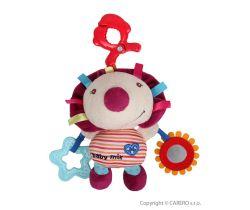 Plyšová vibrační hračka BabyMix Ježek