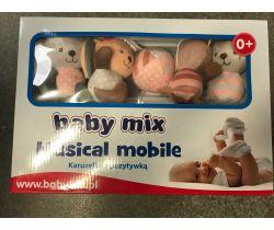 Plyšový hudební kolotoč BabyMix Kitikate
