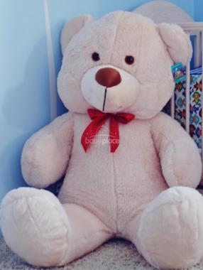 Plyšový Medvídek bílý 85 cm LittleUp
