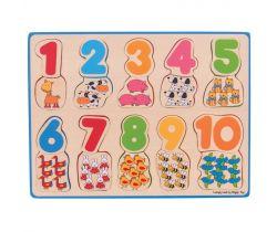 Počítací puzzle Bigjigs Toys 2