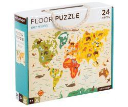 Podlahové puzzle Petitcollage Náš svět