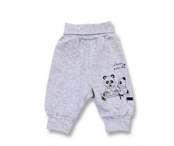Polodupačky Lafel Panda White/Grey Velour