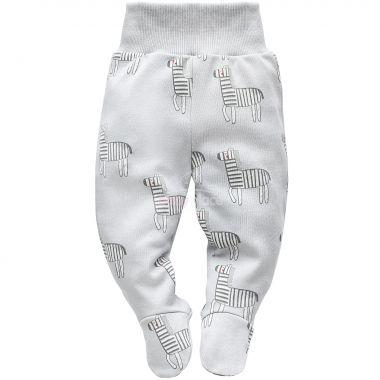 Polodupačky Pinokio Wild Animals Zebra Grey