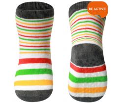 Ponožky 591/01 bavlněné protiskluzové BabyOno 12m+