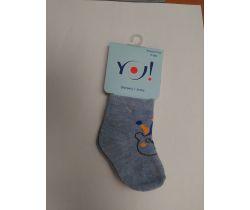 Ponožky froté Yo Blue Bear Claun