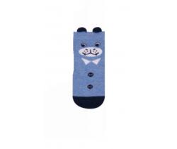Ponožky Yo uši Medvěd modrý