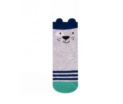 Ponožky Yo uši Pejsek šedý