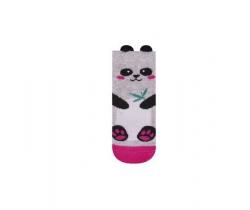 Ponožky Yo uši Panda růžová