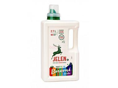 Prací gel na barevné prádlo 2,7 l Jelen