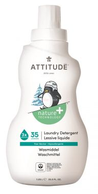 Prací gel pro děti s vůní hruškové šťávy 1050 ml Attitude