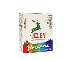 Prací prášek na barevné prádlo 3 kg Jelen