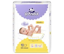 Přebalovací podložky Bella Baby Panda 10 ks