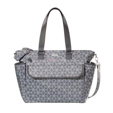 Přebalovací taška Joissy Fancy Geometric Grey