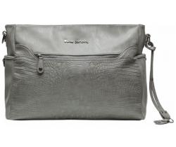 Přebalovací taška Little Company Copenhagen Croco grey Krokodýlí vzor